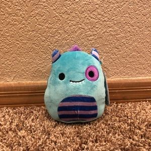 "Squishmallow MORTY MONSTER 5"" RARE"